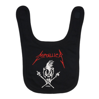 Lätzchen Metallica - Scary Guy, Metal-Kids, Metallica