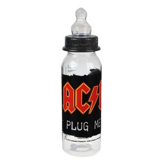 Babyflasche AC/DC - (Plug me in), Metal-Kids, AC-DC