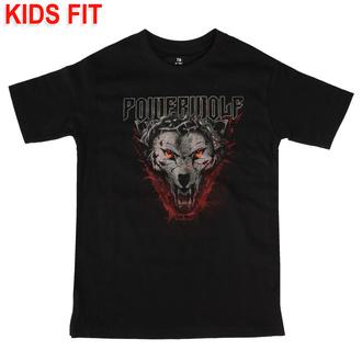Kinder T-Shirt Powerwolf - (Icon Wolf) - schwarz - Metal-Kids, Metal-Kids, Powerwolf
