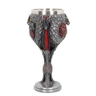 Kelch The Game of thrones - House Targaryen, NNM, Game of Thrones: Das Lied von Eis und Feuer