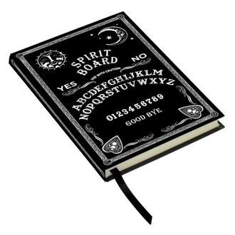 Notizblock Embossed Journal Black and White Spirit Board, NNM