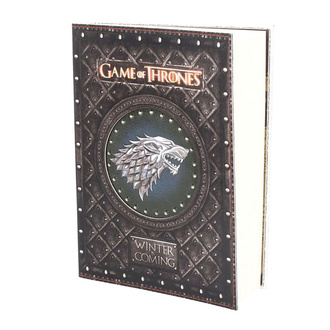 Notizbuch Game of thrones - Winter is Coming, NNM, Game of Thrones: Das Lied von Eis und Feuer