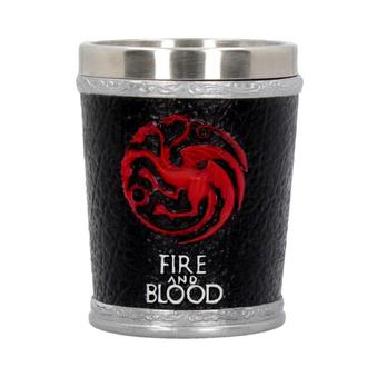 Shotglass Game of thrones - Fire and Blood, NNM, Game of Thrones: Das Lied von Eis und Feuer