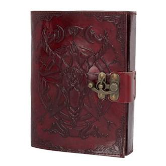 Notizbuch Tagebuch Baphomet - Leather, NNM