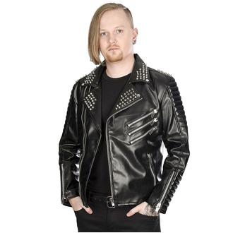 Herren Metal Jacke BLACK PISTOL - Rockers - Himmel Schwarz, BLACK PISTOL