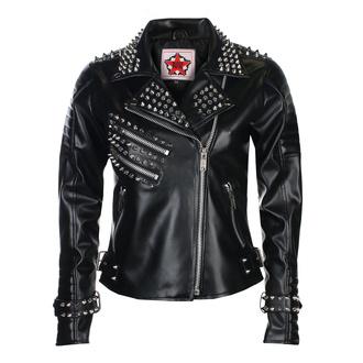 Damen Metal Jacke BLACK PISTOL - Rockers Lady - Himmel Schwarz, BLACK PISTOL