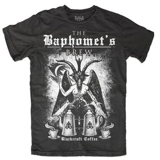 Herren T-Shirt - Baphomet Brew - BLACK CRAFT, BLACK CRAFT