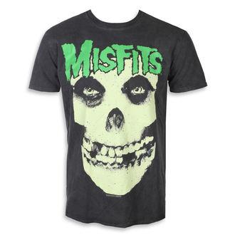 Herren T-Shirt Metal Misfits - LARGE SKULL - PLASTIC HEAD, PLASTIC HEAD, Misfits