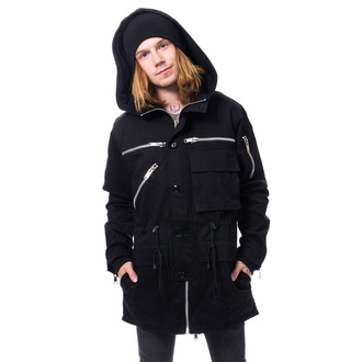 HerrenJjacke CHEMICAL BLACK - BASTIAN PARKA - SCHWARZ, CHEMICAL BLACK