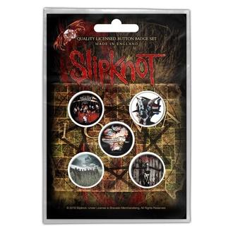 Abzeichen Slipknot - Albums, RAZAMATAZ, Slipknot