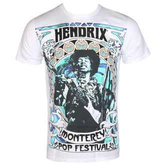 Herren T-Shirt Metal Jimi Hendrix - MONTEREY '67 - BRAVADO, BRAVADO, Jimi Hendrix