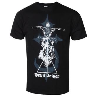 Herren T-Shirt Metal Devildriver - BAPHOMET - PLASTIC HEAD, PLASTIC HEAD, Devildriver