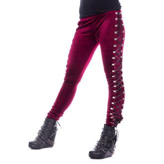 Damen Leggings CHEMICAL BLACK - BEETLE - ROT, CHEMICAL BLACK