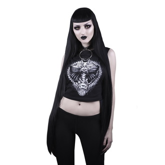 Damen Crop Top BELIAL - Spirit Awaken Moth, BELIAL