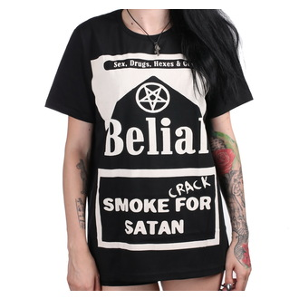 Unisex T-Shirt - Smoke Crack for Satan - BELIAL, BELIAL