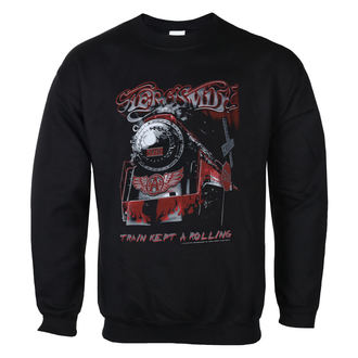 Herren Sweatshirt Aerosmith - Train kept a going - LOW FREQUENCY, LOW FREQUENCY, Aerosmith