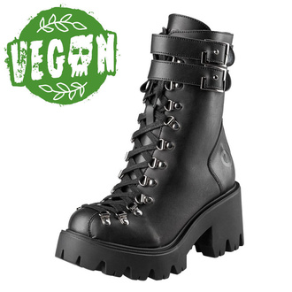 Damen Schuhe Boots ALTERCORE - Chloe II - Vegan Schwarz, ALTERCORE