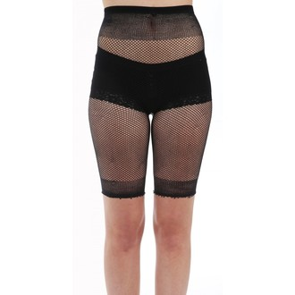 Damen Shorts (Strumpfhosen) PAMELA MANN - Fishnet Cycling - Schwarz, PAMELA MANN