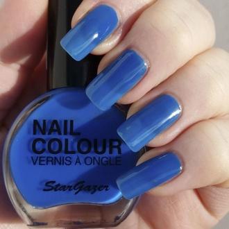 Nagellack STAR GAZER - Neon Blue, STAR GAZER