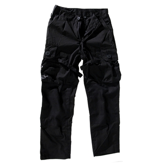Herren Hose  BOOTS AND BRACES - Pant Nightmare - Black- 300616, BOOTS & BRACES