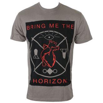Herren T-Shirt Metal Bring Me The Horizon - HEARTS & SYMBOLS - GRY - BRAVADO, BRAVADO, Bring Me The Horizon