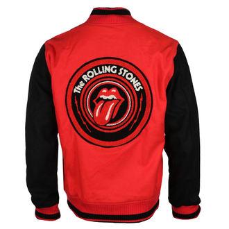 Herren Sweatjacke Rolling Stones - VARSITY - BRAVADO, BRAVADO, Rolling Stones