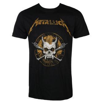 Herren T-Shirt Metal Metallica - Scary Guy Seal Black -, NNM, Metallica