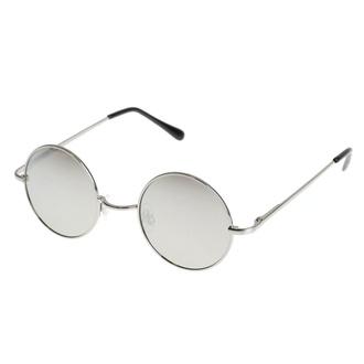 Sonnenbrille Lennon - Silber, Rockbites