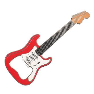 Flaschenöffner Gitarre Klassisch - Rot, Rockbites