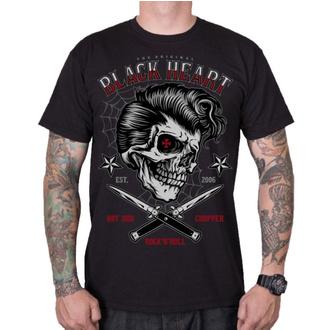 Herren T-Shirt Street - DENY BOY - BLACK HEART, BLACK HEART