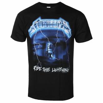 Herren T-Shirt Metallica - Ride The Lightning, ROCK OFF, Metallica