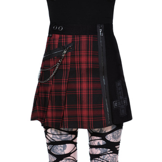Damen Rock KILLSTAR - Calling Alice Mini Skirt - TARTAN - KSRA002137