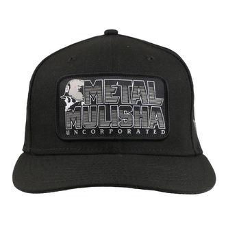 Kappe Cap METAL MULISHA - JAIL BREAK BLK, METAL MULISHA
