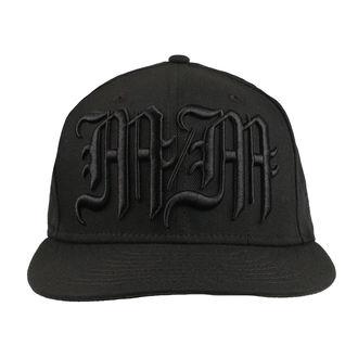 Kappe Cap METAL MULISHA - BLACK METAL BLK, METAL MULISHA