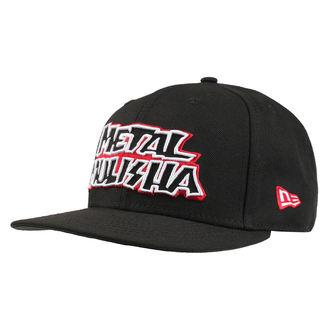 Kappe Cap METAL MULISHA - STICK UP BLK, METAL MULISHA