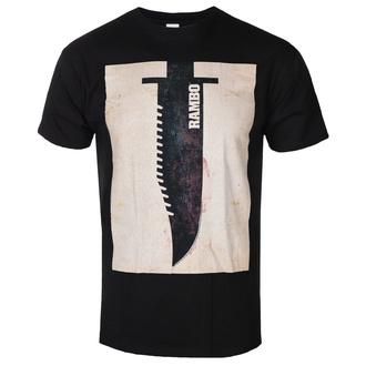 Herren T-Shirt Rambo - Knife, AMERICAN CLASSICS, Rambo