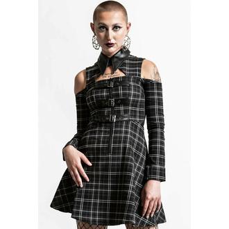 Frauenkleider KILLSTAR - Chaotica - ASH TARTAN, KILLSTAR