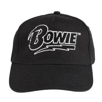 Kappe Cap DAVID BOWIE - LOGO - SCHWARZ - LIVE NATION, LIVE NATION, David Bowie