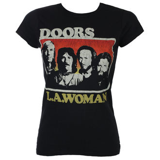Damen T-Shirt Metal Doors - LA Woman - ROCK OFF, ROCK OFF, Doors