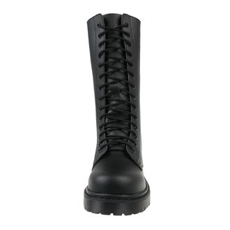 Unisex Lederstiefel - Black - ALTERCORE, ALTERCORE