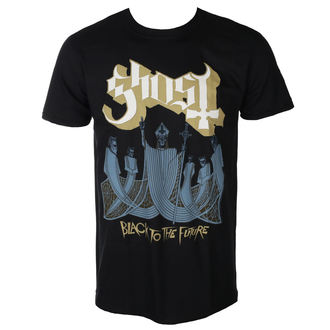Herren T-Shirt Metal Ghost - BLACK TO THE FUTURE - PLASTIC HEAD, PLASTIC HEAD, Ghost