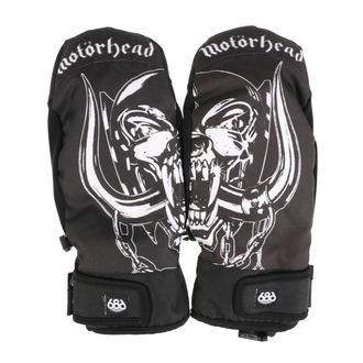Handschuhe (Fäustlinge) MOTÖRHEAD - Mountain Mitt - Schwarz, 686, Motörhead