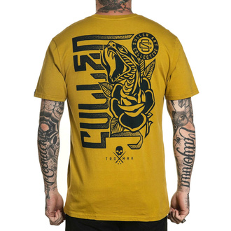 Herren T-Shirt SULLEN - SMELL THE ROSES - BURNT MUSTARD, SULLEN