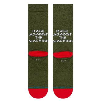 Socken Rage Against the Machine - RENEGADES - ARMEEGRÜN, STANCE, Rage against the machine