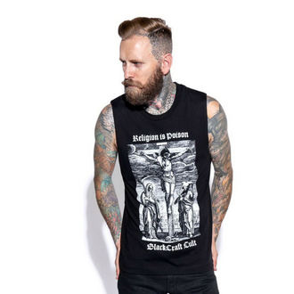 Unisex Tanktop BLACK CRAFT - Religion is Poison, BLACK CRAFT