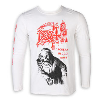 Herren Longsleeve Metal Death - SCREAM BLOODY GORE - PLASTIC HEAD, PLASTIC HEAD, Death