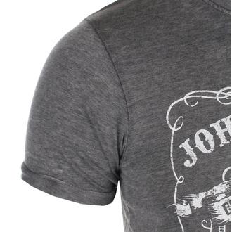 Herren T-Shirt Metal Johnny Cash - The Man In Black - ROCK OFF, ROCK OFF, Johnny Cash