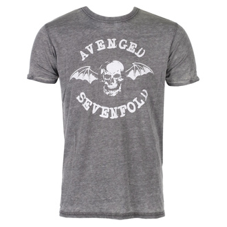 Herren T-Shirt Metal Avenged Sevenfold - Deathbat - ROCK OFF, ROCK OFF, Avenged Sevenfold