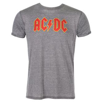 Herren T-Shirt Metal AC / DC - Logo - ROCK OFF, ROCK OFF, AC-DC