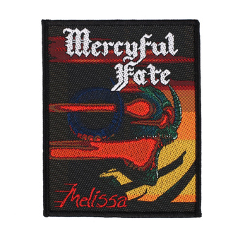 Patch Aufnäher Mercyful Fate - Melissa - RAZAMATAZ, RAZAMATAZ, Mercyful Fate